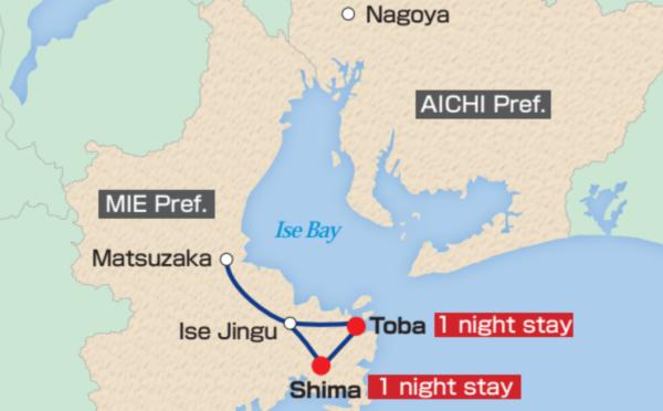 Map of Ise-Shima